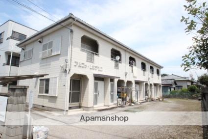 千葉県市川市、本八幡駅徒歩20分の築24年 2階建の賃貸アパート