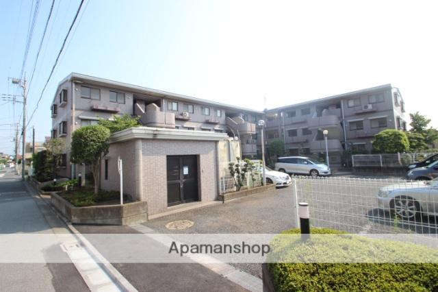 千葉県市川市、本八幡駅徒歩17分の築23年 3階建の賃貸マンション