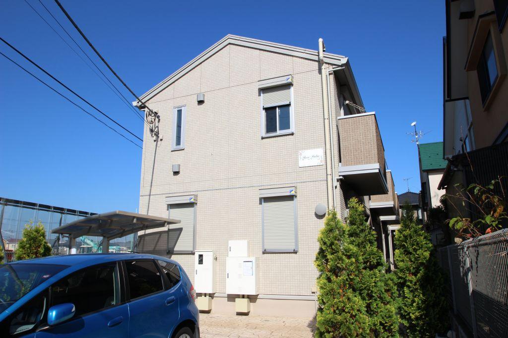 千葉県市川市、市川駅徒歩26分の築4年 2階建の賃貸テラスハウス