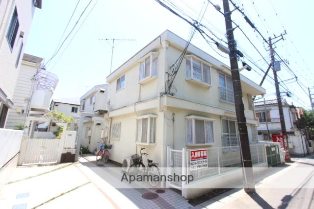 千葉県市川市、市川駅徒歩9分の築26年 2階建の賃貸アパート