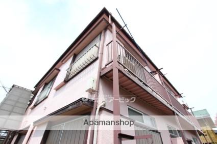 千葉県市川市、市川駅徒歩22分の築40年 2階建の賃貸アパート