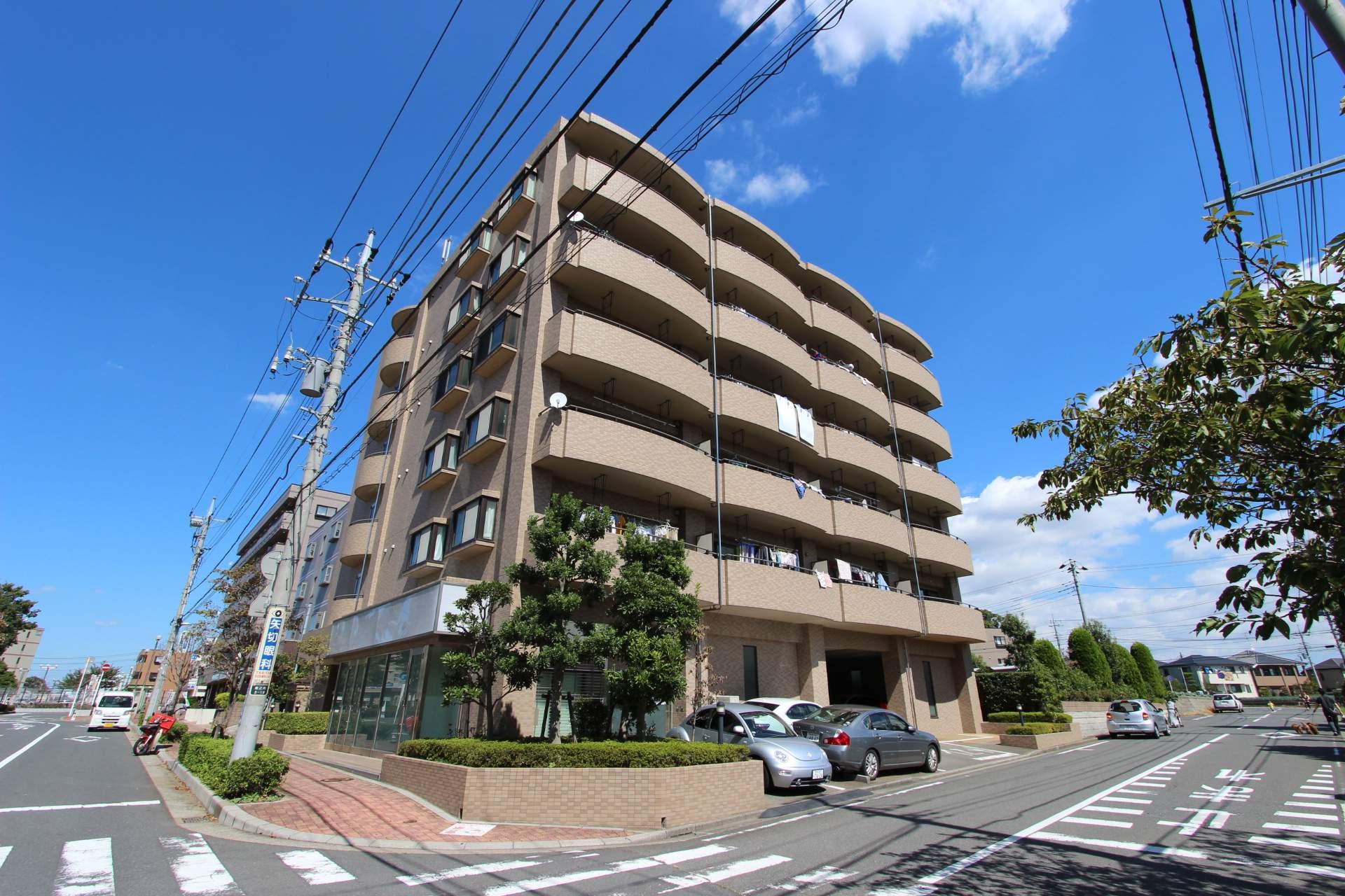 千葉県市川市、矢切駅徒歩25分の築16年 6階建の賃貸マンション