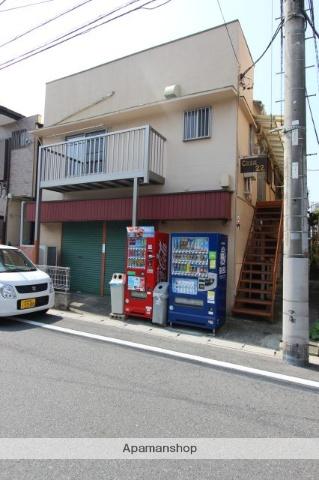 千葉県市川市、下総中山駅徒歩8分の築48年 2階建の賃貸アパート