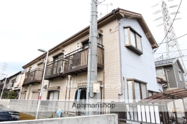 千葉県船橋市、下総中山駅徒歩6分の築23年 2階建の賃貸アパート
