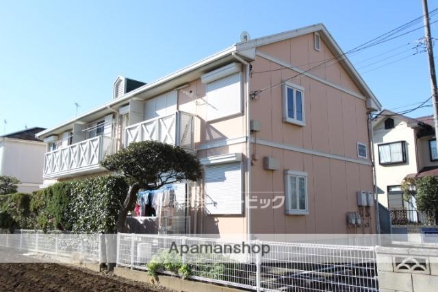 千葉県市川市、市川駅徒歩20分の築25年 2階建の賃貸アパート