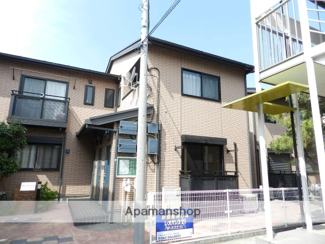 千葉県市川市、菅野駅徒歩15分の築12年 2階建の賃貸アパート
