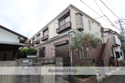 千葉県市川市、市川駅徒歩10分の築22年 2階建の賃貸アパート