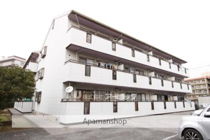 千葉県市川市、西船橋駅徒歩18分の築26年 3階建の賃貸アパート