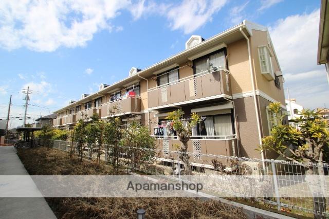 千葉県市川市、本八幡駅徒歩18分の築27年 2階建の賃貸アパート