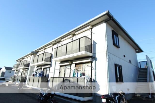 千葉県市川市、秋山駅徒歩13分の築23年 2階建の賃貸アパート