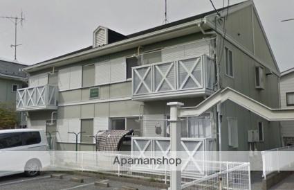 千葉県市川市、本八幡駅徒歩17分の築27年 2階建の賃貸アパート