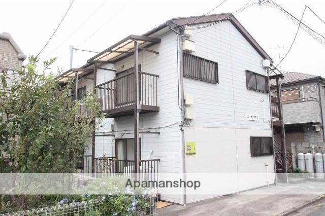 千葉県市川市、市川駅徒歩14分の築26年 2階建の賃貸アパート