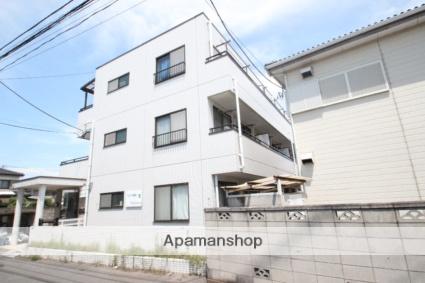 千葉県市川市、本八幡駅徒歩22分の築27年 3階建の賃貸マンション