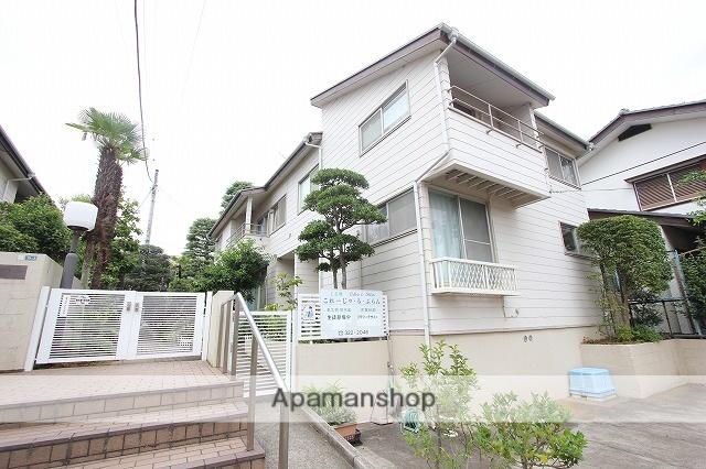 千葉県市川市、本八幡駅徒歩15分の築36年 2階建の賃貸テラスハウス