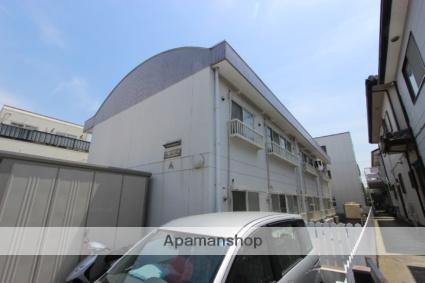 千葉県市川市、本八幡駅徒歩11分の築23年 2階建の賃貸アパート