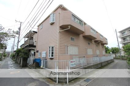 千葉県市川市、本八幡駅徒歩16分の築28年 2階建の賃貸アパート