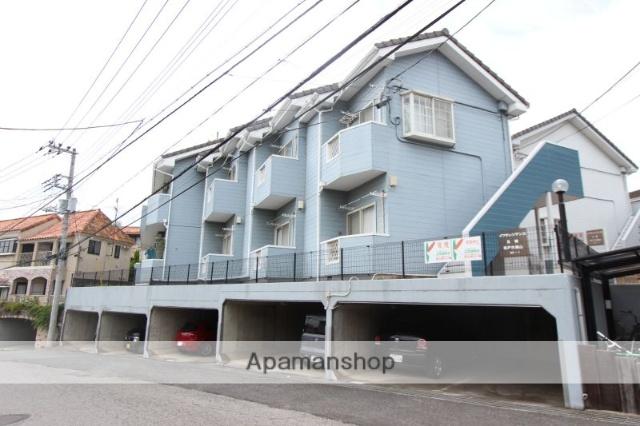 千葉県松戸市、国府台駅徒歩28分の築23年 2階建の賃貸アパート