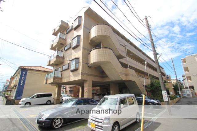 千葉県市川市、本八幡駅徒歩10分の築25年 4階建の賃貸マンション