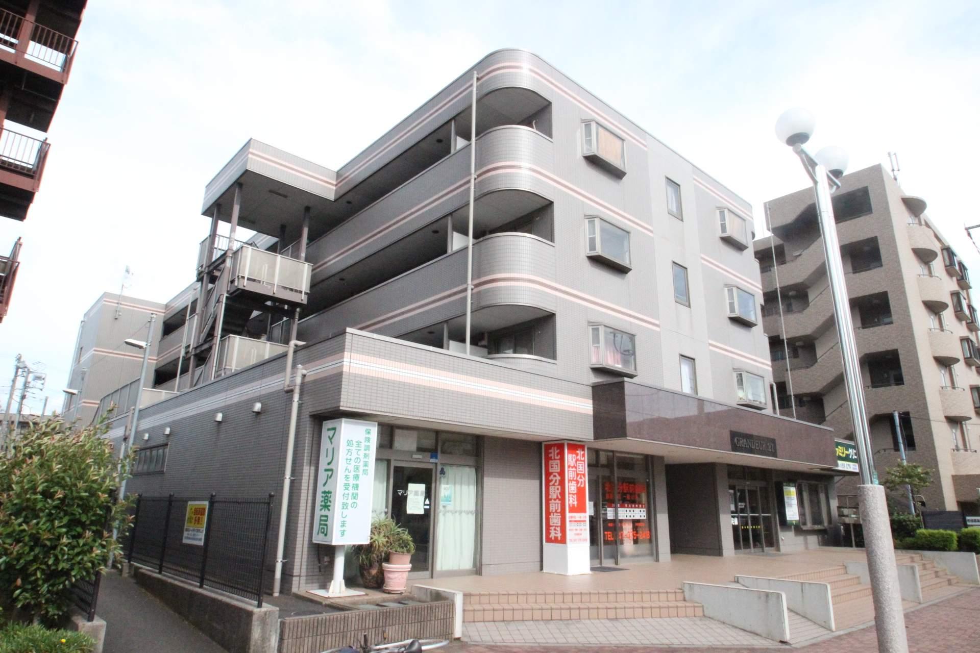千葉県市川市、矢切駅徒歩26分の築17年 4階建の賃貸マンション