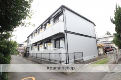 千葉県市川市、本八幡駅徒歩13分の築23年 2階建の賃貸アパート