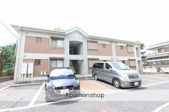 千葉県市川市、国府台駅徒歩25分の築15年 2階建の賃貸マンション