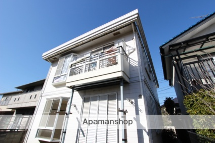 千葉県市川市、下総中山駅徒歩15分の築36年 2階建の賃貸アパート