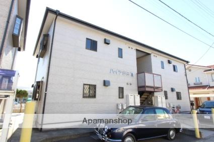 千葉県市川市、下総中山駅徒歩15分の築14年 2階建の賃貸アパート