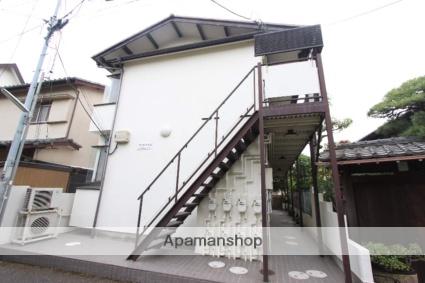 千葉県市川市、市川駅徒歩4分の築43年 2階建の賃貸アパート
