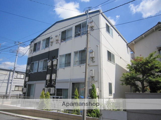 千葉県市川市、下総中山駅徒歩10分の築9年 3階建の賃貸アパート