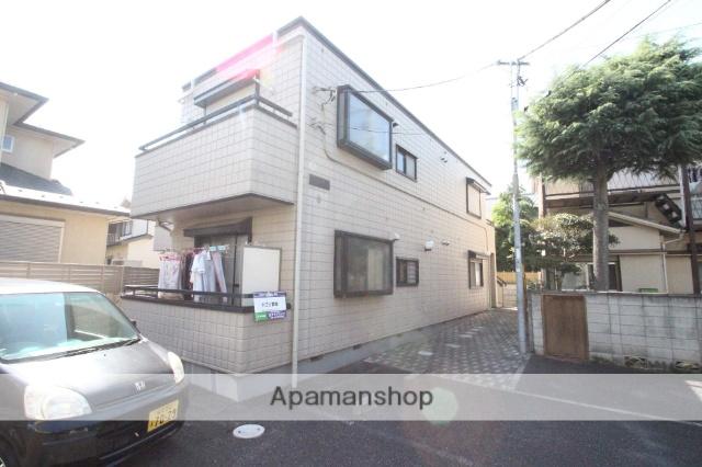 千葉県市川市、本八幡駅徒歩10分の築23年 2階建の賃貸アパート