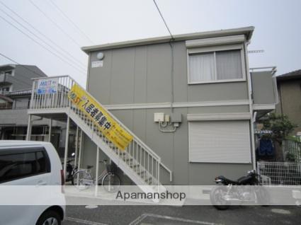 千葉県市川市、下総中山駅徒歩17分の築23年 2階建の賃貸アパート