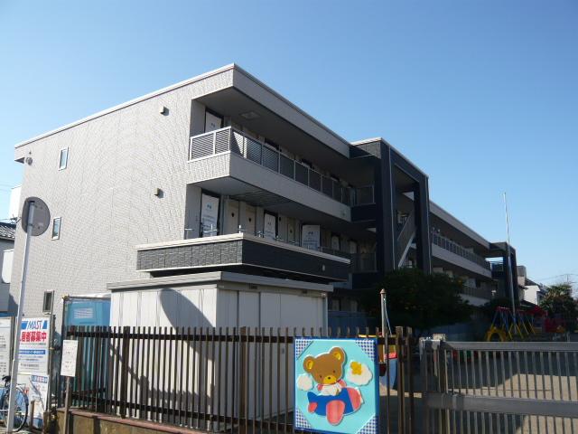 千葉県船橋市、下総中山駅徒歩7分の築7年 3階建の賃貸マンション