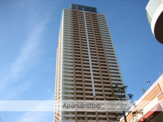 千葉県市川市、市川駅徒歩1分の築7年 45階建の賃貸マンション