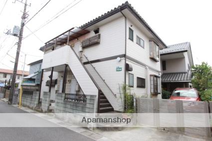 千葉県市川市、下総中山駅徒歩15分の築25年 2階建の賃貸アパート