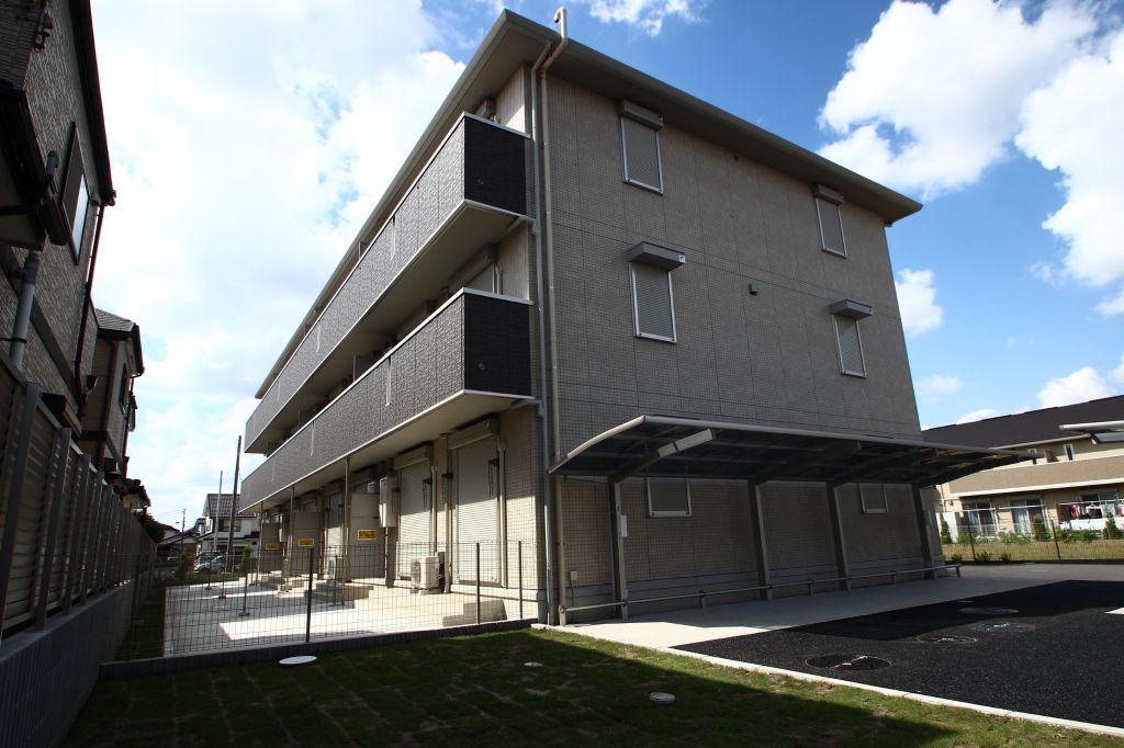 千葉県松戸市、市川大野駅徒歩28分の築2年 3階建の賃貸アパート