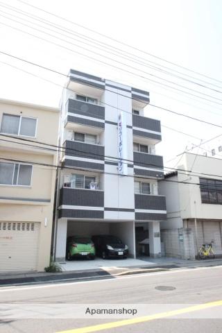 千葉県市川市、下総中山駅徒歩3分の築2年 4階建の賃貸マンション