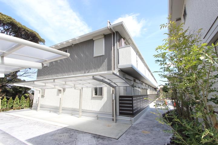 千葉県市川市、下総中山駅徒歩18分の新築 2階建の賃貸アパート