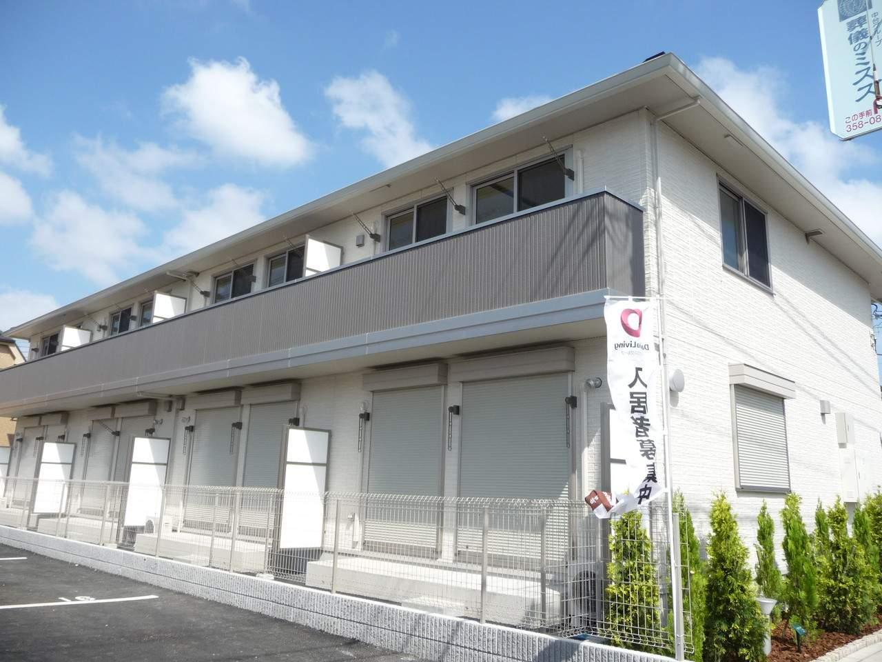 千葉県市川市、妙典駅徒歩8分の築7年 2階建の賃貸アパート