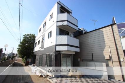 千葉県市川市、本八幡駅徒歩12分の新築 3階建の賃貸マンション