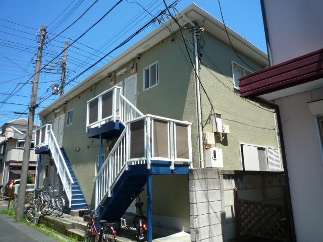 千葉県市川市、市川駅徒歩6分の築26年 2階建の賃貸アパート