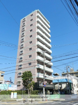 千葉県市川市、本八幡駅徒歩9分の築4年 12階建の賃貸マンション