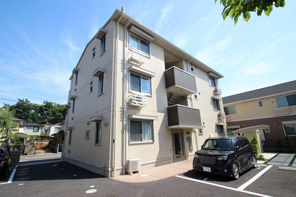 千葉県市川市、下総中山駅徒歩20分の築4年 3階建の賃貸アパート