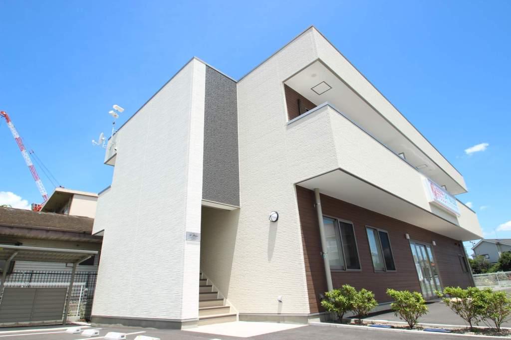 千葉県市川市、本八幡駅徒歩24分の築2年 2階建の賃貸マンション
