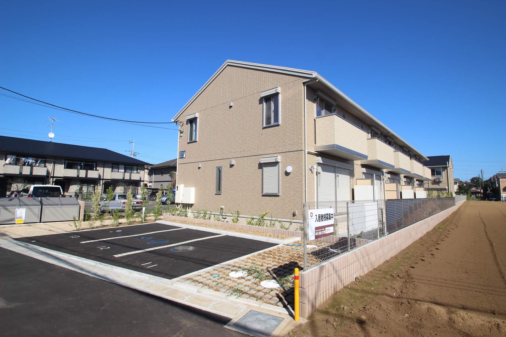 千葉県市川市、国府台駅徒歩35分の築2年 2階建の賃貸アパート