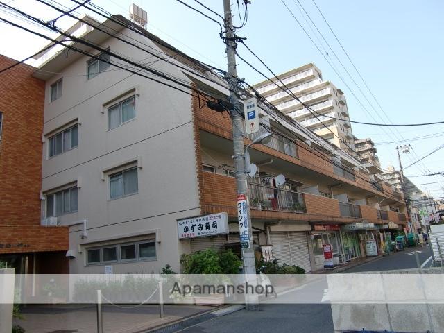 千葉県市川市、市川駅徒歩4分の築35年 4階建の賃貸マンション