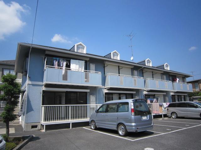 千葉県市川市、下総中山駅徒歩17分の築24年 2階建の賃貸アパート