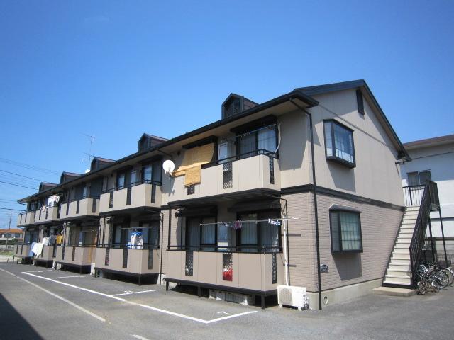 千葉県市川市、船橋法典駅徒歩14分の築21年 2階建の賃貸アパート