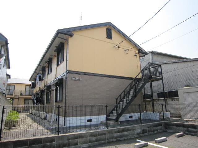 千葉県市川市、市川大野駅徒歩9分の築21年 2階建の賃貸アパート