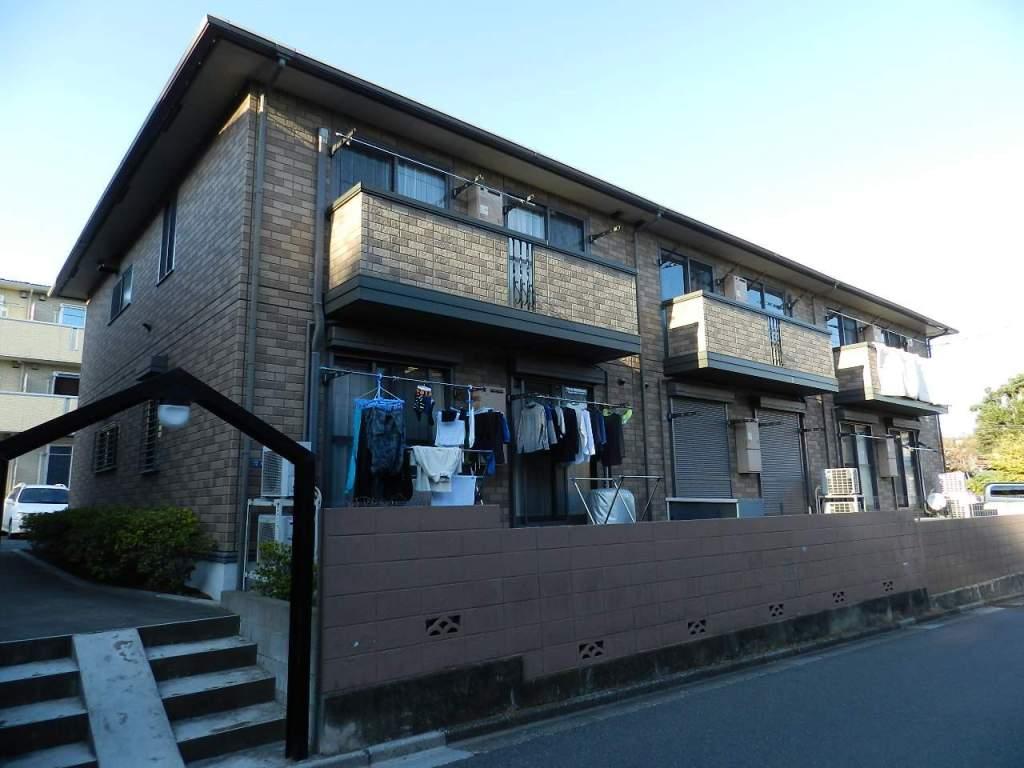 千葉県市川市、本八幡駅京成バスバス16分曽谷下車後徒歩8分の築15年 2階建の賃貸アパート