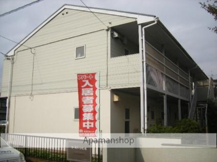 千葉県松戸市、松戸駅徒歩22分の築32年 2階建の賃貸アパート